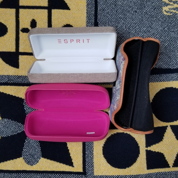 Esprit Accessories - Set of 3 Glasses Cases